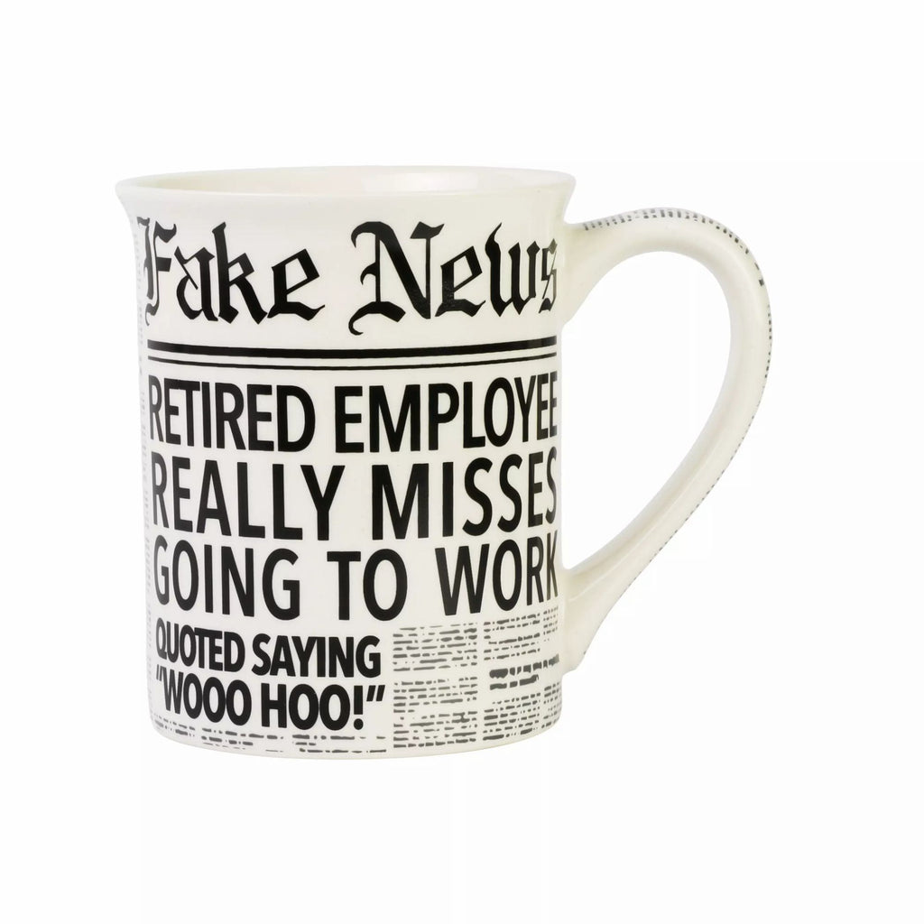 Fake News Retired Mug