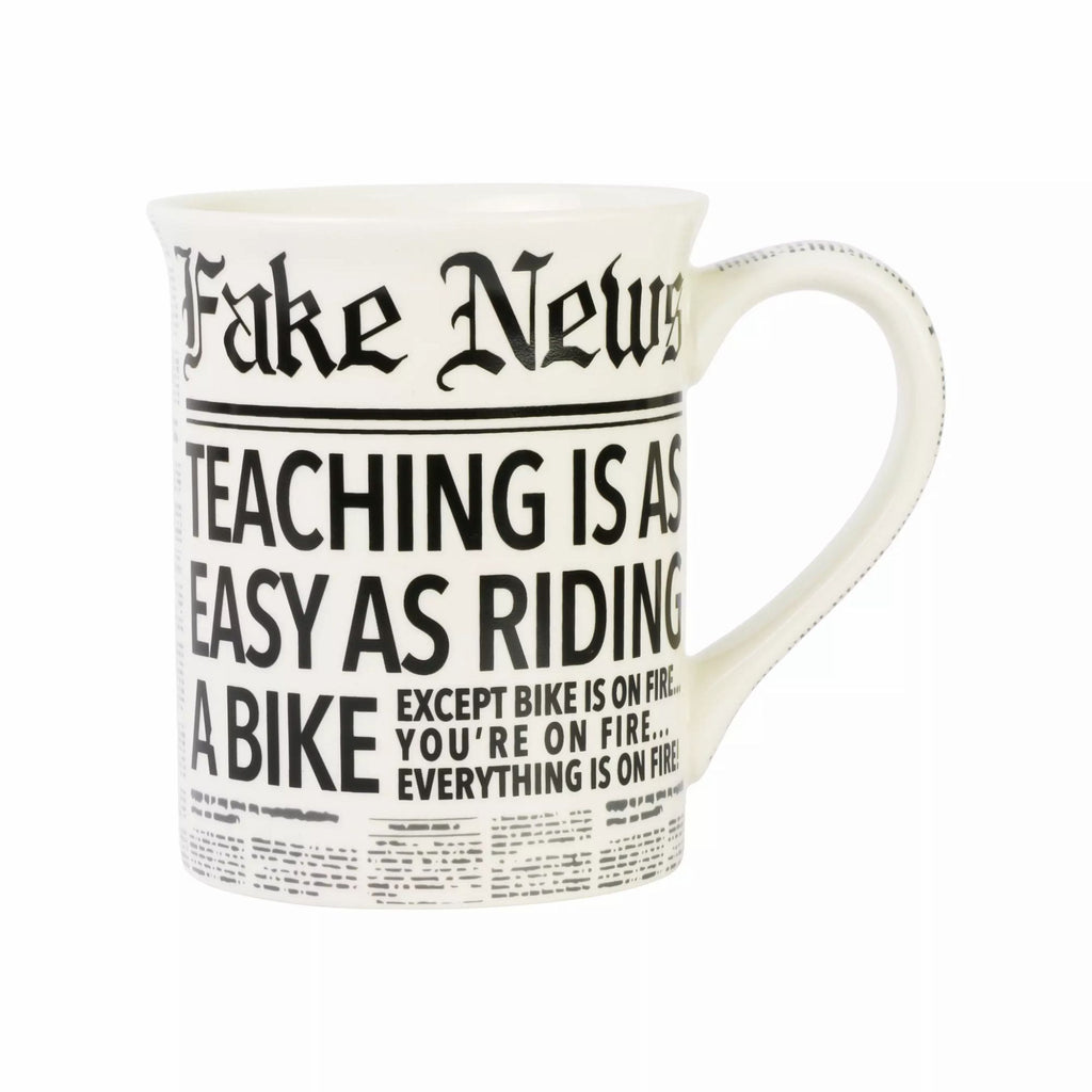 Fake News Teaching Mug