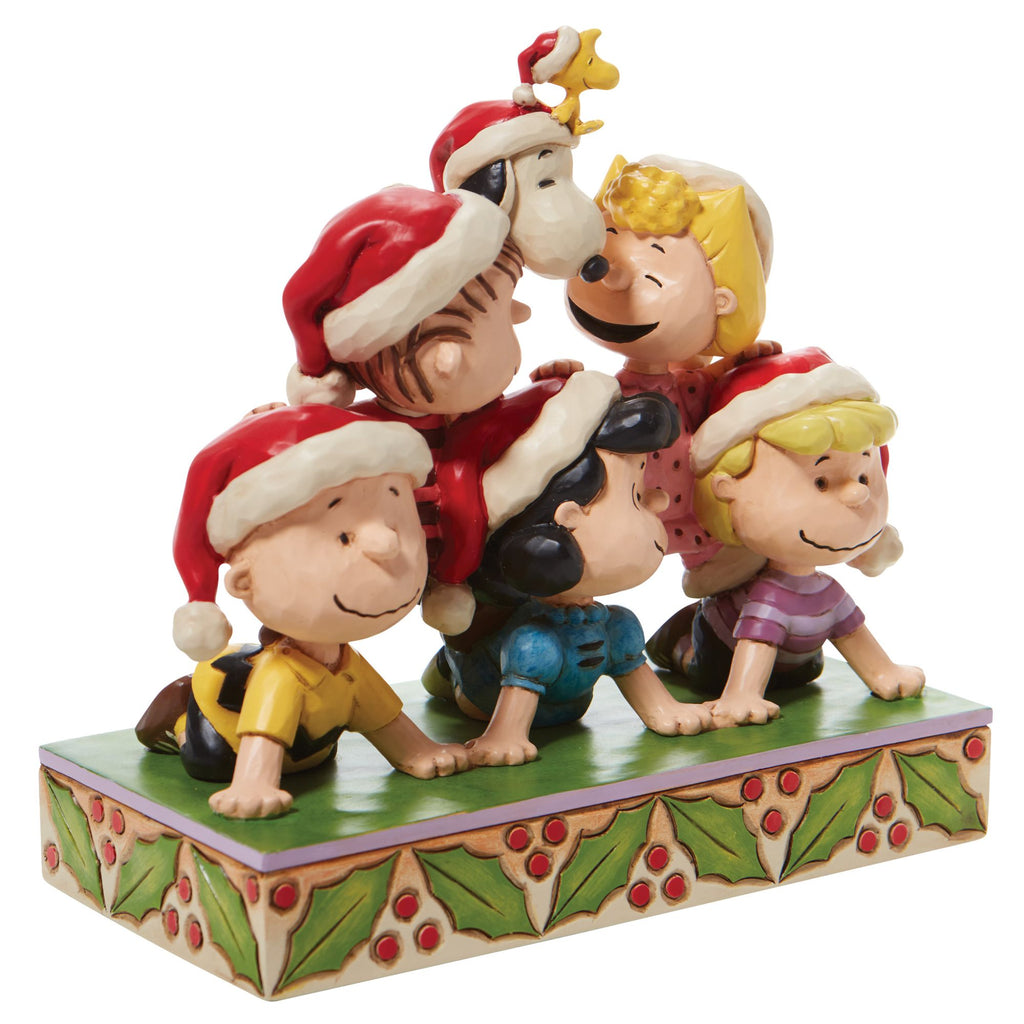 Peanuts Holiday Pyramid