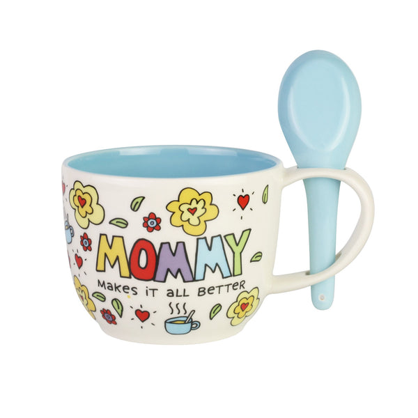 Mommy Makes Better Mug spoon