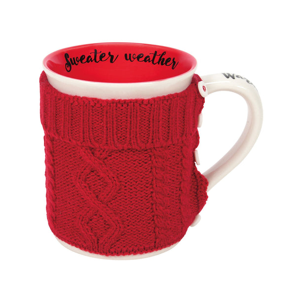 COUNTRY LIVING SWEATER MUG