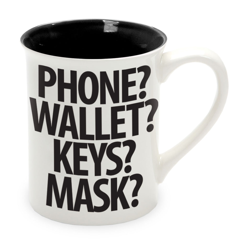 PHONE WALLET MASK COFFEE MUG