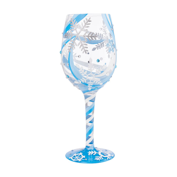 Snowflake Dreams Wine Glass