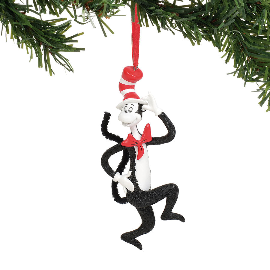 Cat In The Hat Ornament