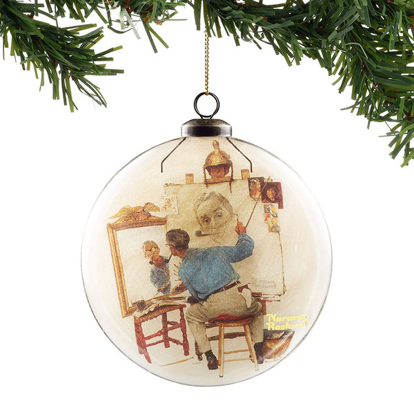 Self Portait Hanging Ornament