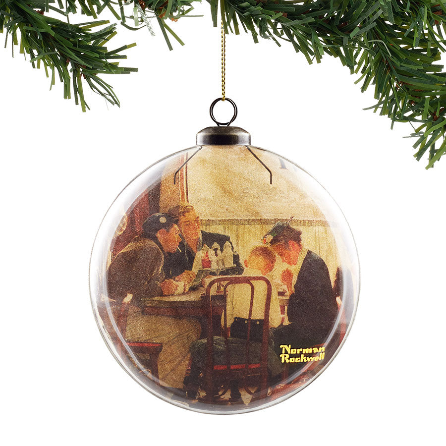 Saying Grace Hanging Ornament