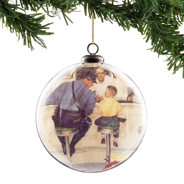 The Runaway Hanging Ornament