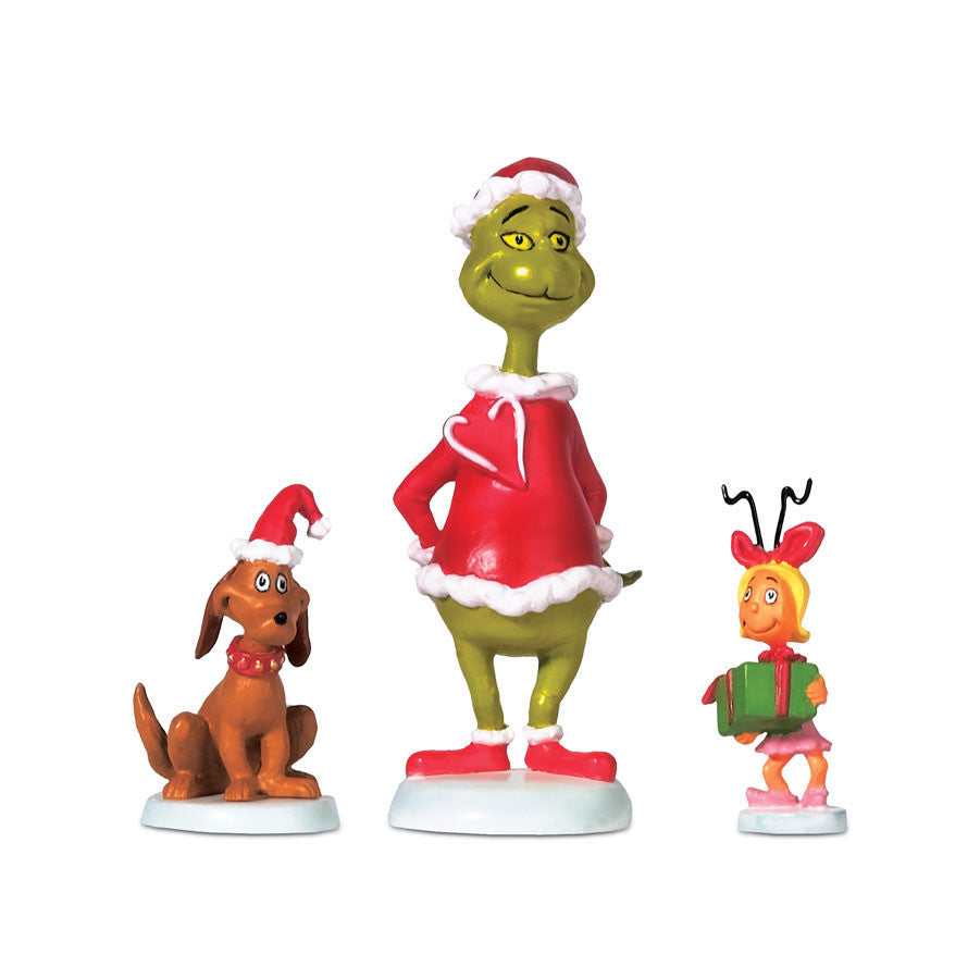 Grinch Max & Cindy-Lou Who