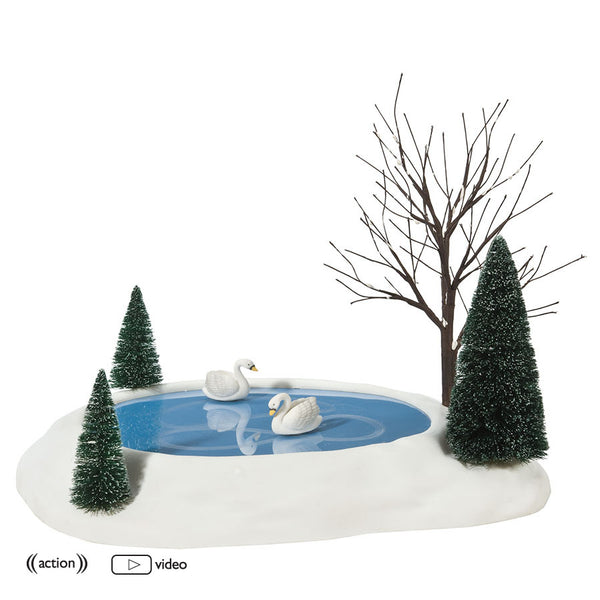 Animated Swan Pond