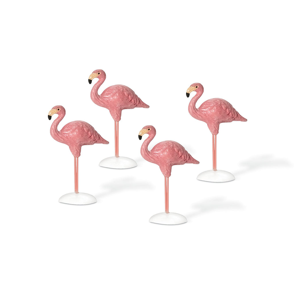 Village Flamingos