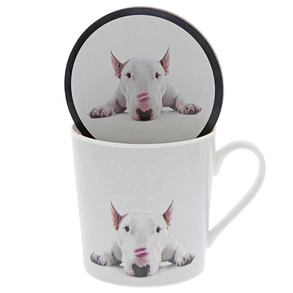 Jimmy The Bull Kisses Mug set