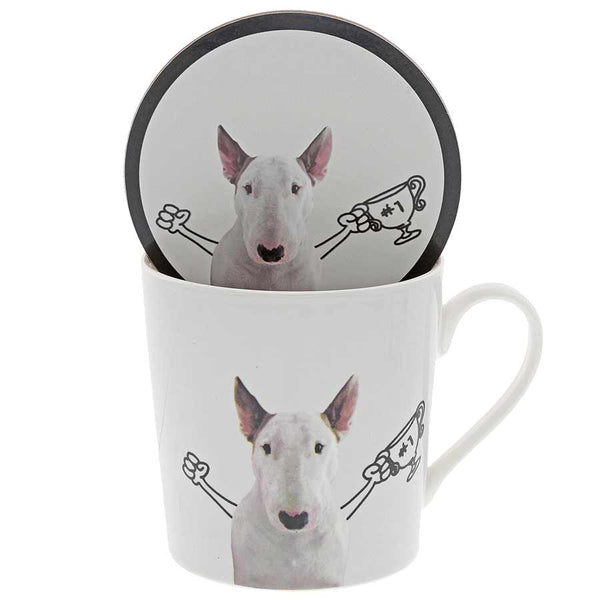 Jimmy The Bull Winner Mug set