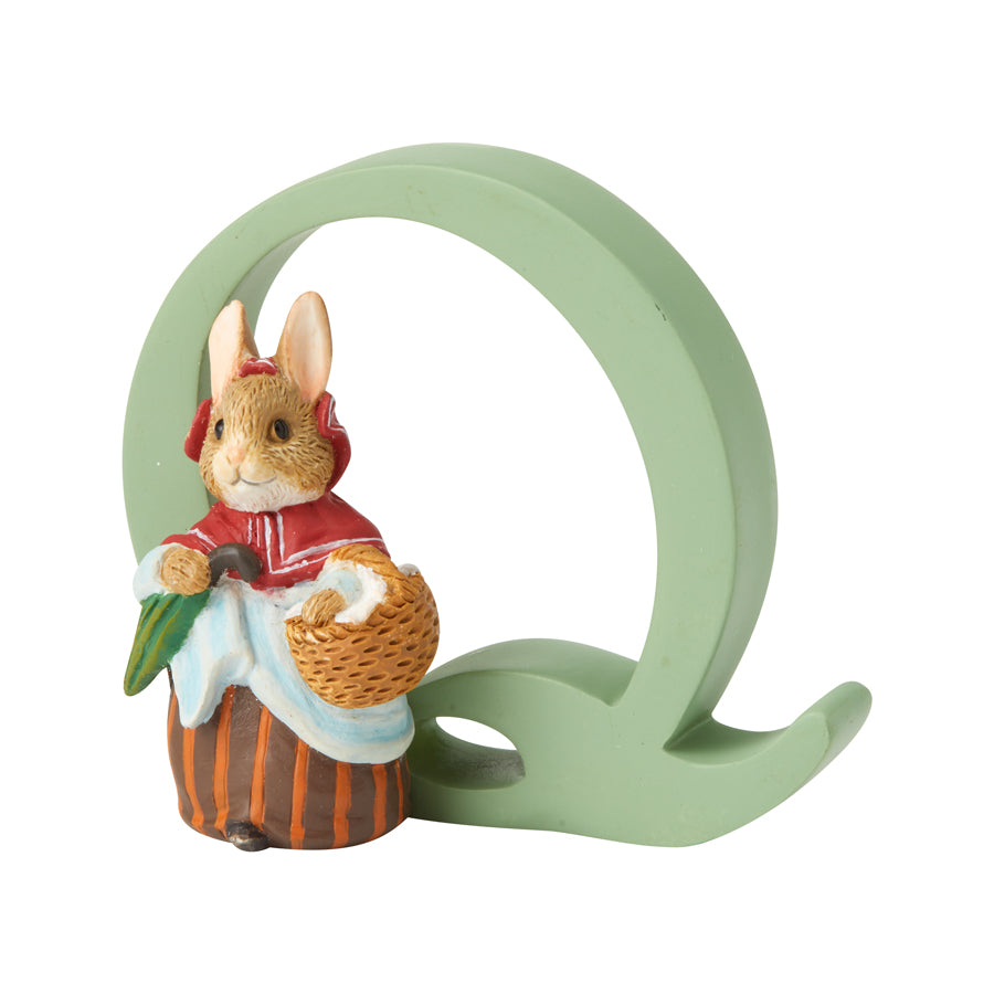 """Q"" Mrs. Rabbit"