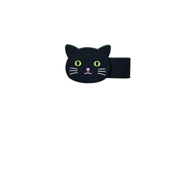 Black Cat Magnetic Clip