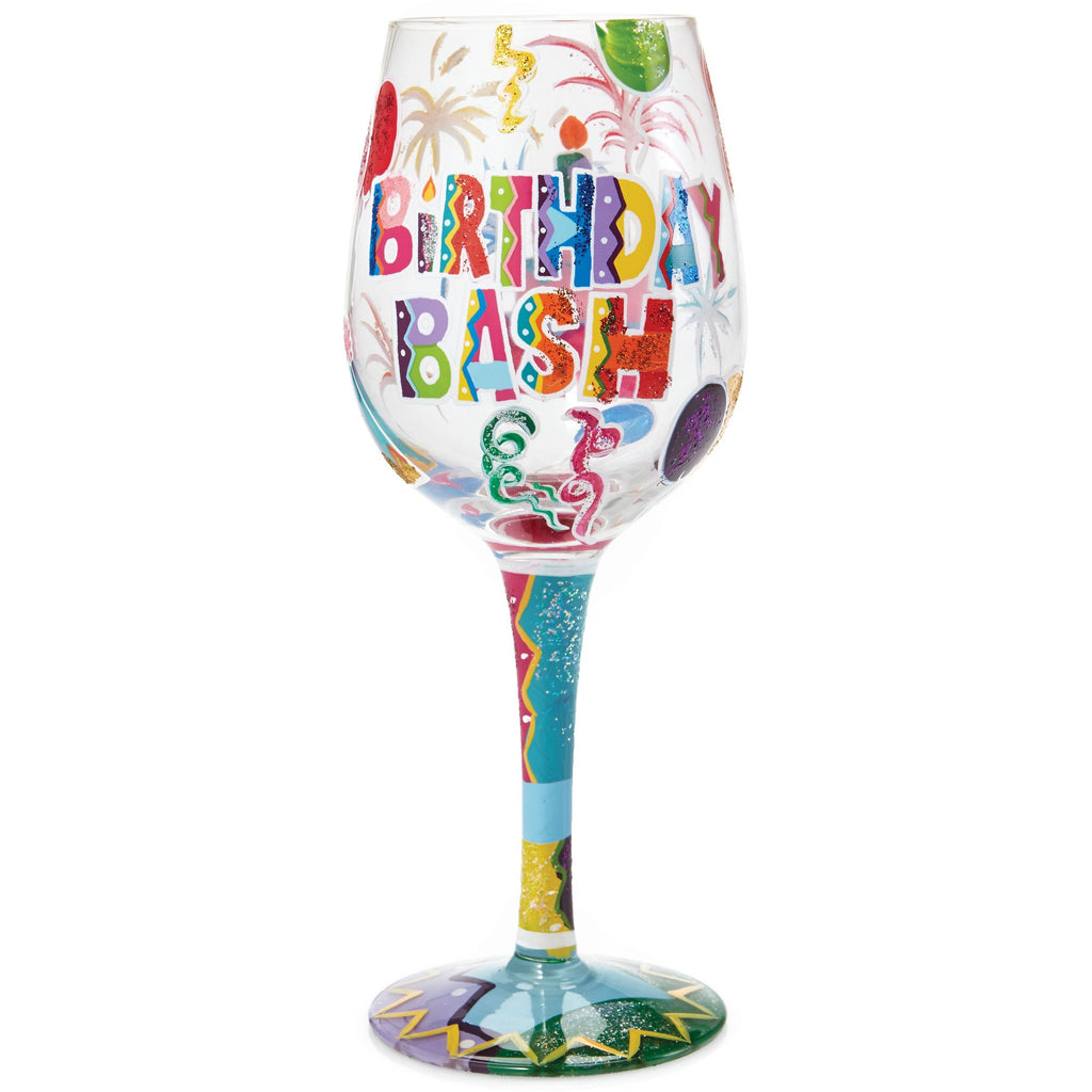 WINE GLASS BIRTHDAY BASH
