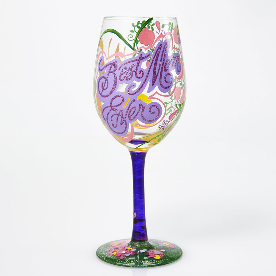 WINE GLASS BEST MOM EVER