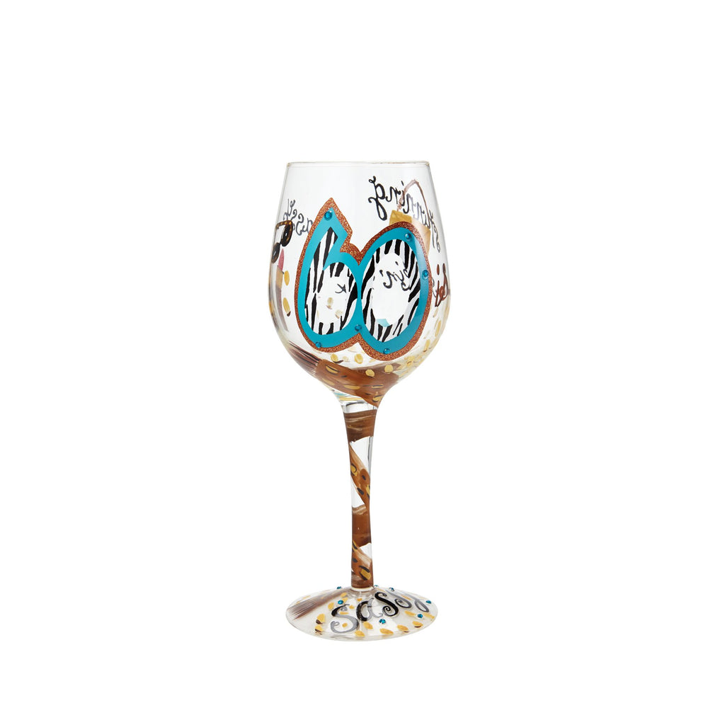 WINE GLASS 60 AND SASSY