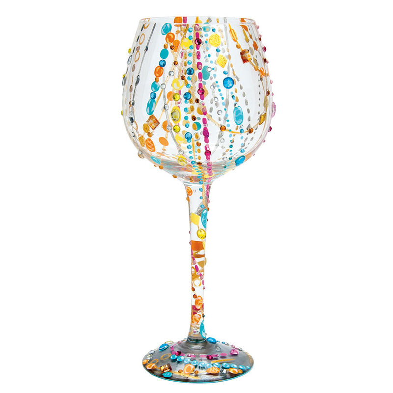 WINE GLASS BLING RADIANCE