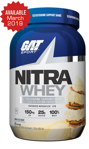GAT SPORT Introduces NITRA WHEY, a revolutionary Test