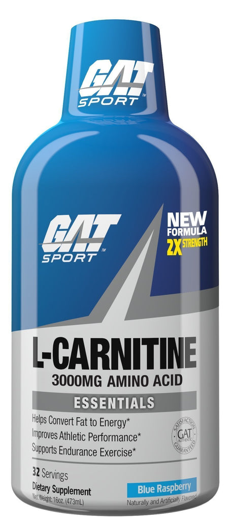 L-CARNITINE LIQUID 3000MG - GAT SPORT
