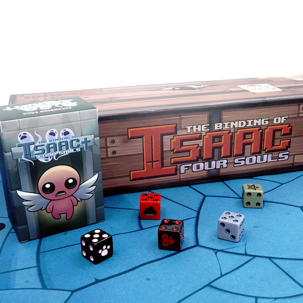The Binding of Isaac: Four Souls Card Game and Accessories Bundle