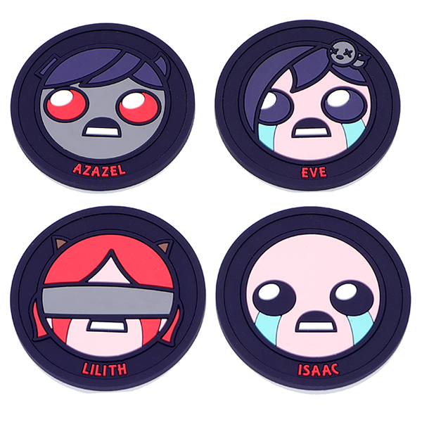 The Binding of Isaac: Drink Coasters