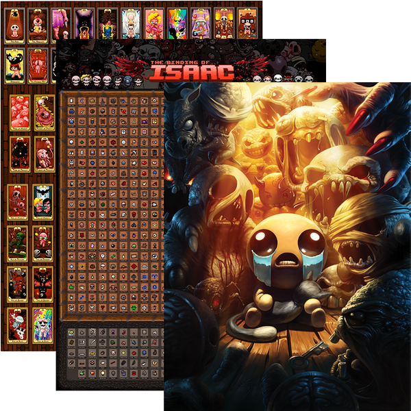 The Binding of Isaac Wall Poster Bundle