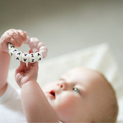 PERSONALISED TEETHING RINGS