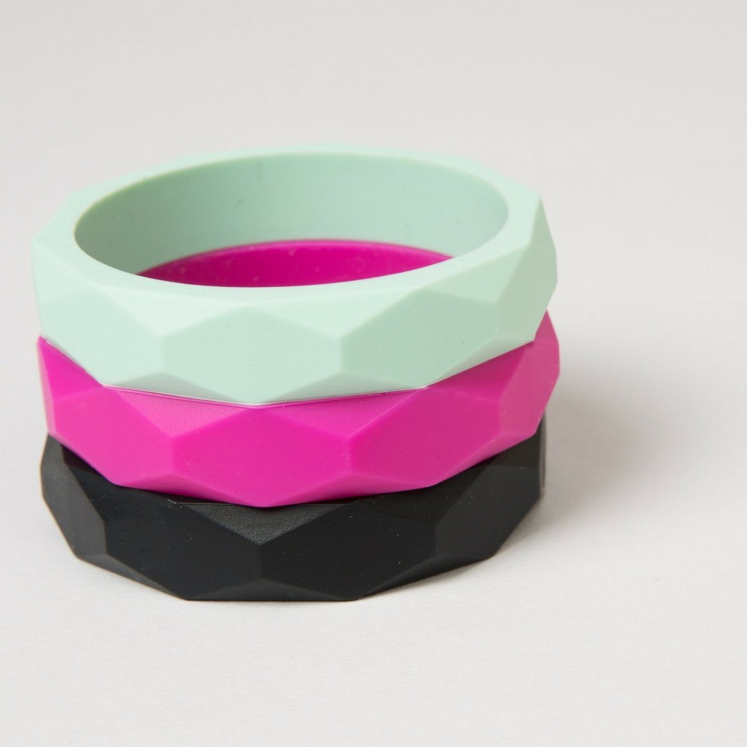 Teething Bangle <br> Multiple Colours