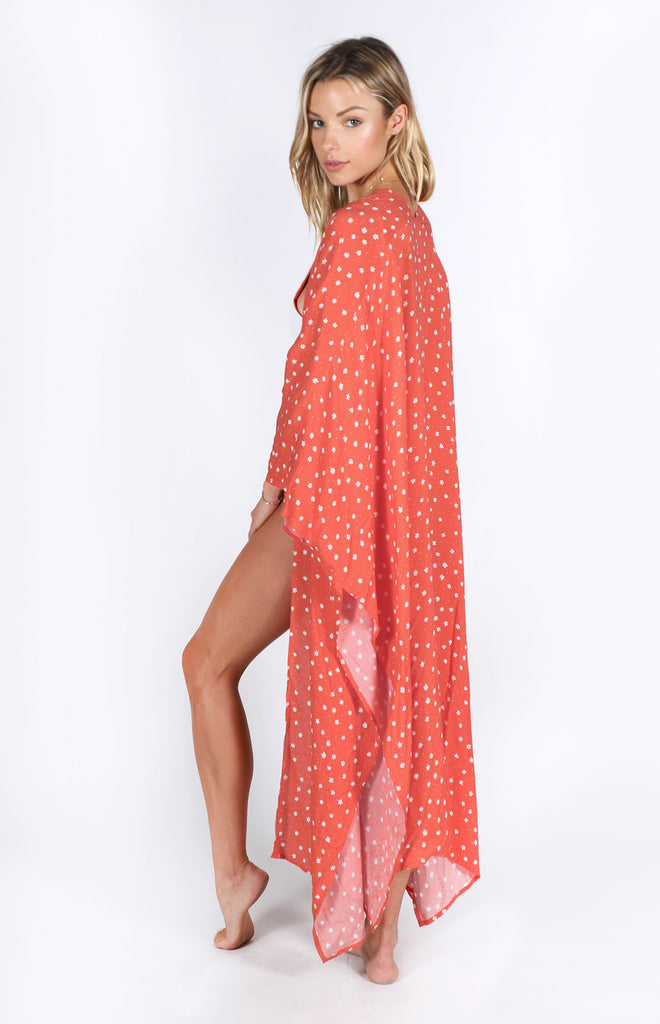 Yasmine Coverup | Red