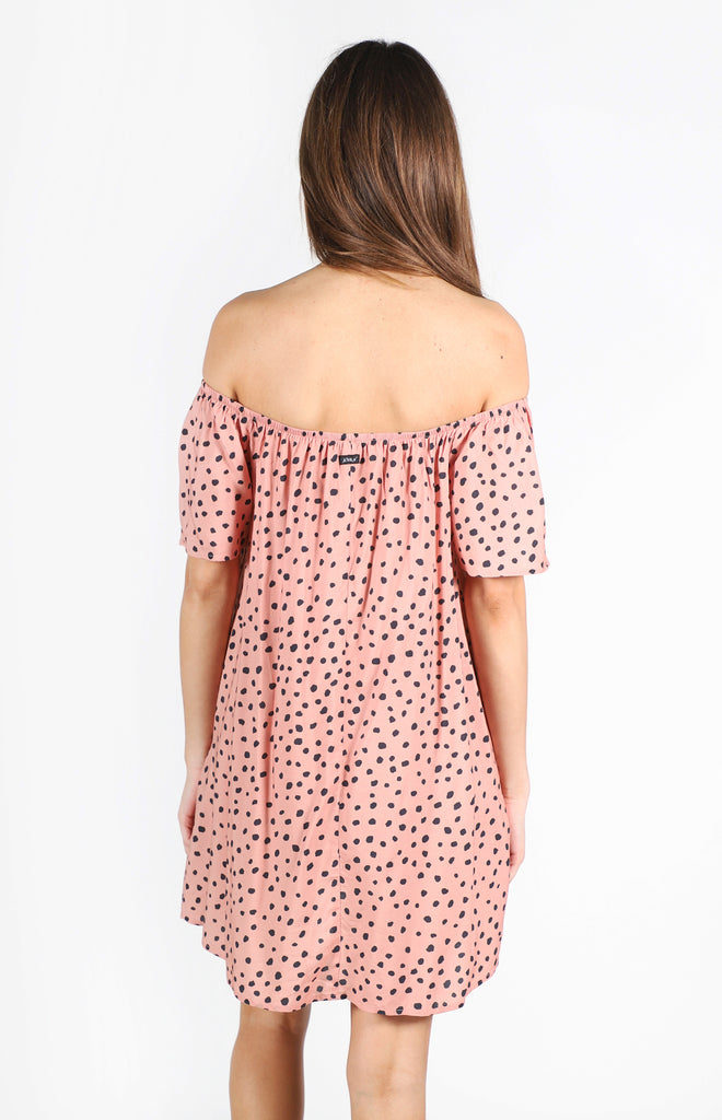 Spot On Dress | Terracotta