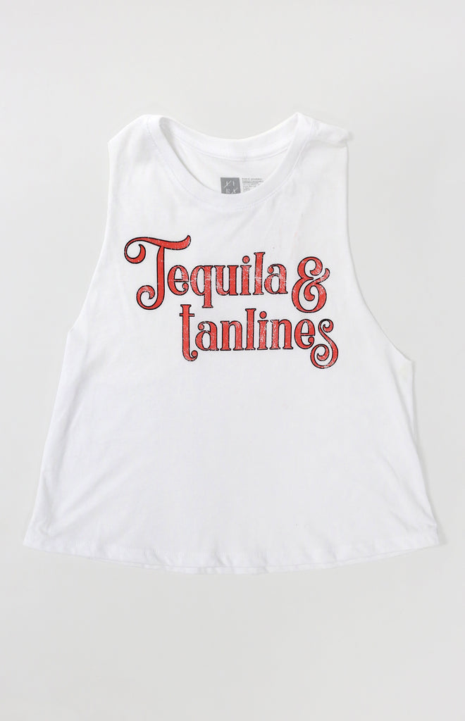 Tequila & Tanlines Tank | Ivory