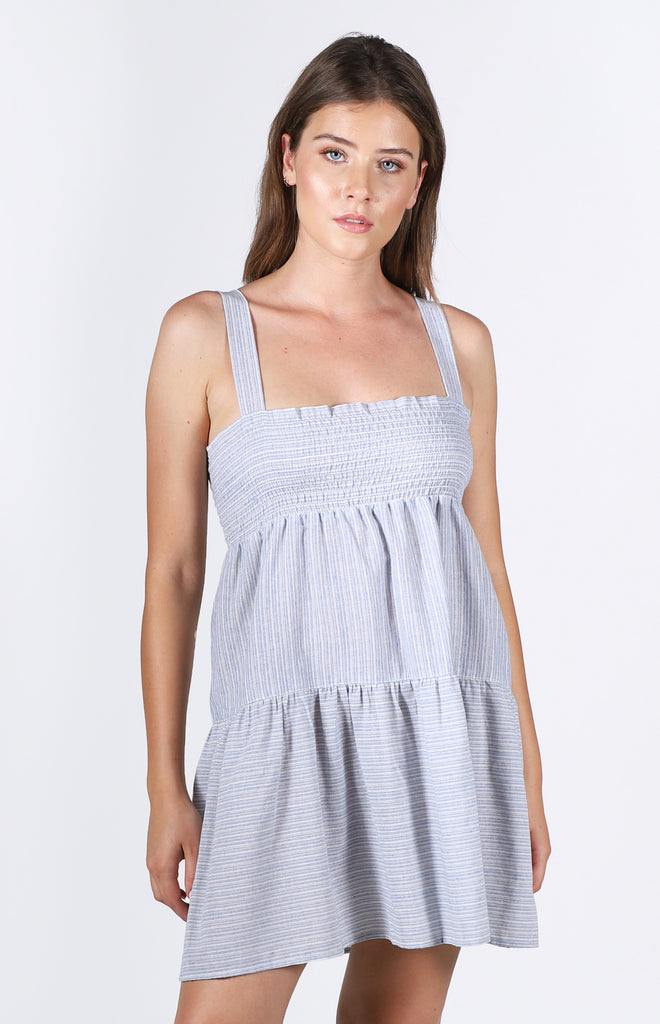 Weston Dress | Blue