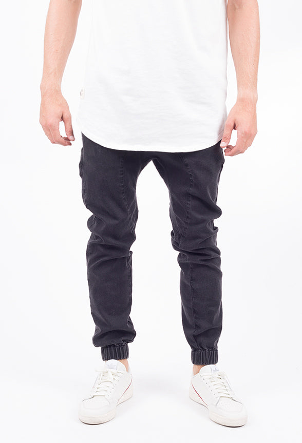 Vintage Denim Jogger 2.0 | Black
