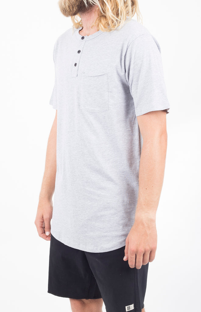 Kiwi SS Henley | Heather Grey