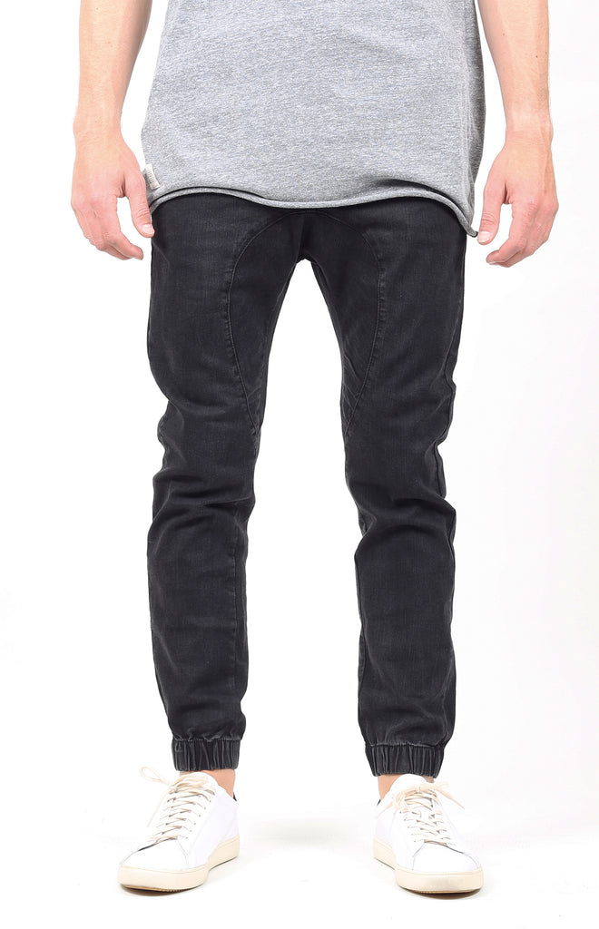 Vintage Denim Jogger 2.0 | Dark Black