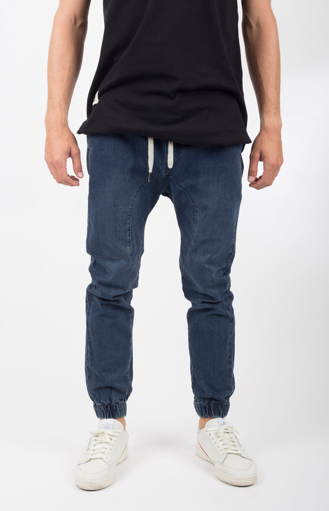Vintage Denim Jogger 2.0 | Dark Blue