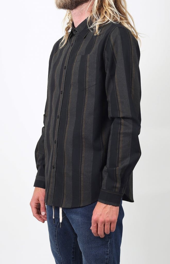 Larkspur Flannel | Black