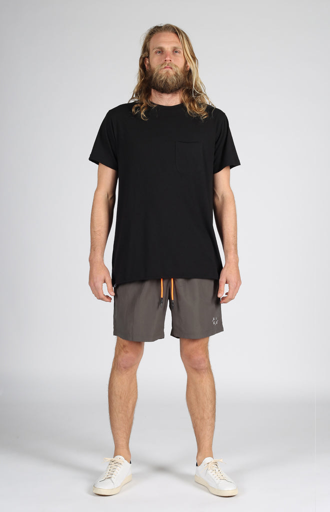 Court Volley Short | Charcoal