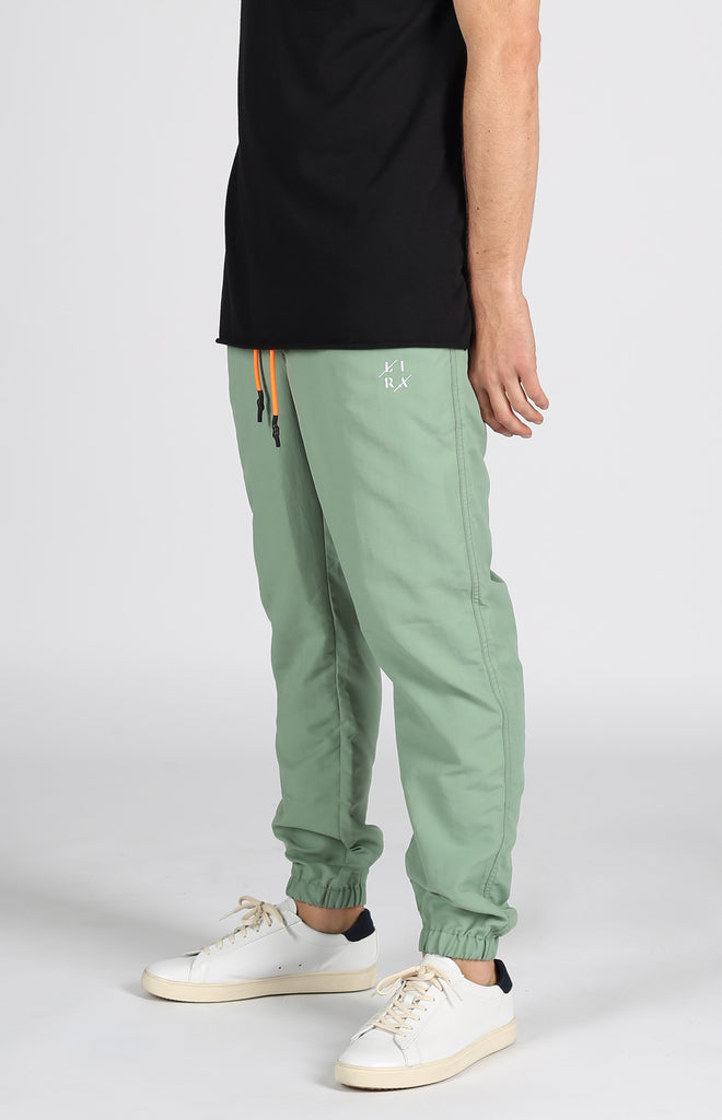 Full Court Nylon Jogger | Sage