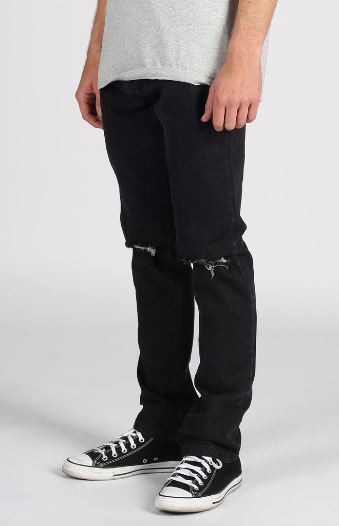 Huntington Denim Pant Dark Black