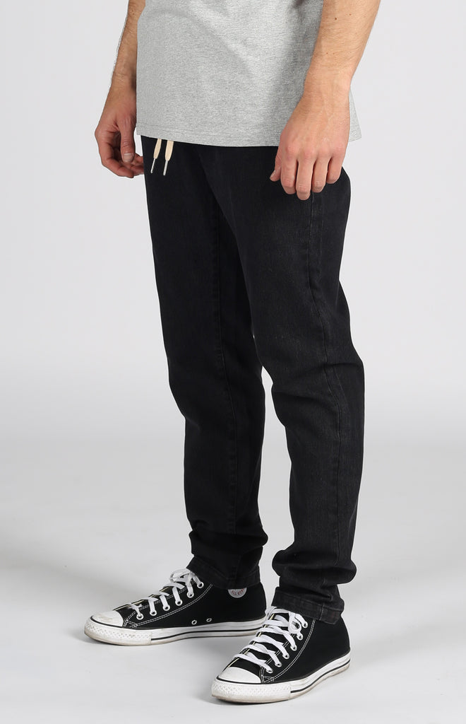 San Clemente Denim Pant Dark Black