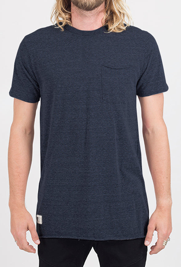 Winslow Knit Tee | Heather Navy