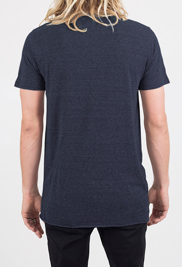 Winslow SS Tee | Heather Navy