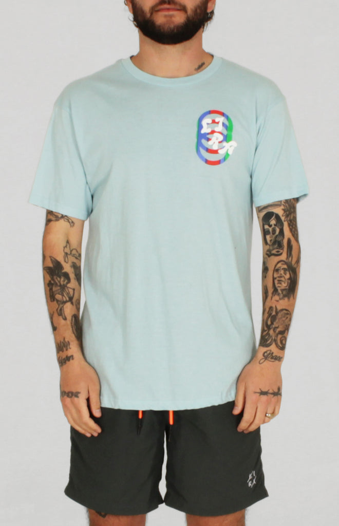 PATRAS SS TEE LIGHT BLUE