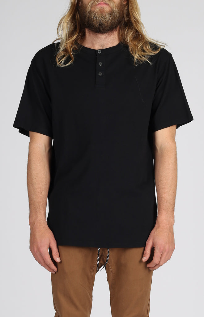 Henley | Black