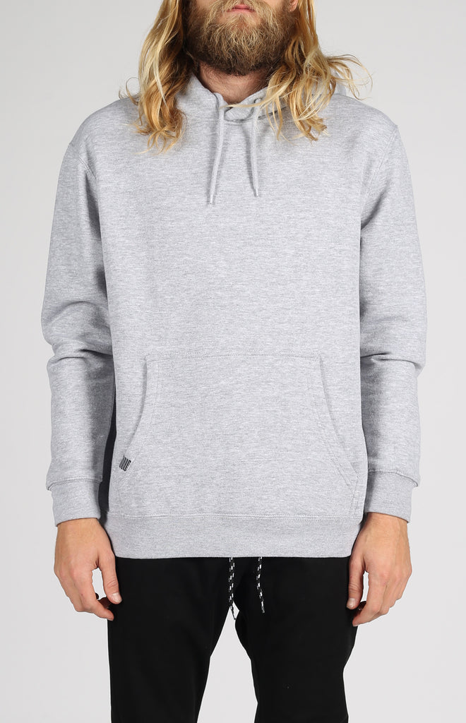 Unisex Pullover Hood | Heather Grey