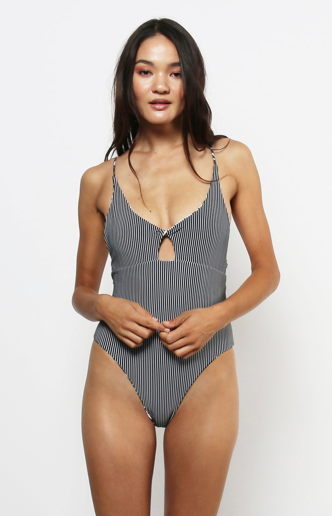 Rhodes Reversible One Piece | Black