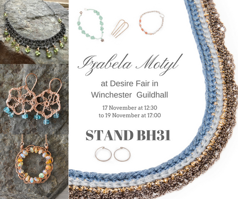 Visit Izabela Motyl at the Winchester Desire Fair
