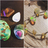Beautiful gemstones used by Izabela Motyl